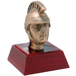 Promote Trojan or Spartan School Spirit with Trophies or Bobble Heads