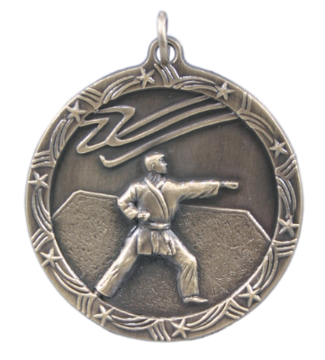 ST67 Martial Arts Medals with Six Pricing Options, as low as $1.40