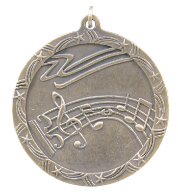 ST66 Music Medals with Six Pricing Options, as low as $1.40