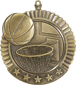 36020 Huge Basketball Medal with Six Pricing Options
