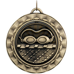 SP340 Spinning Swim Medal with Six Pricing Options