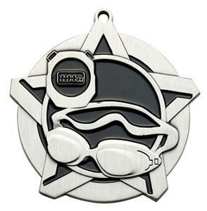 43040 Swimming Medal with Six Pricing Options
