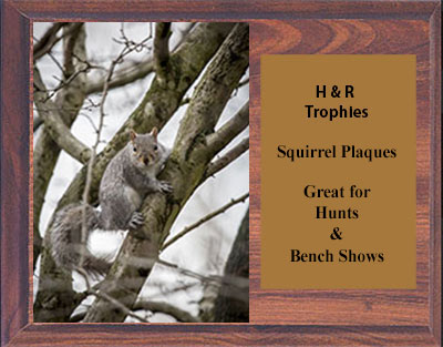 Available in Cherry, and Black Marble Finish, or Solid Walnut Plaques