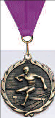 Hurdles Track Medal, Male or Female