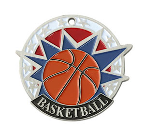 Colorful USA Basketball Medal with Six Pricing Options