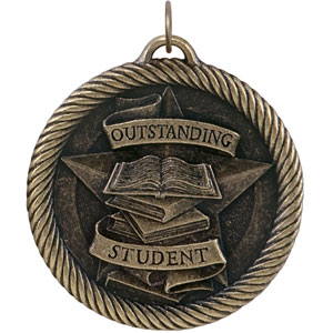 Outstanding Student Medal VM-249 with Neck Ribbons