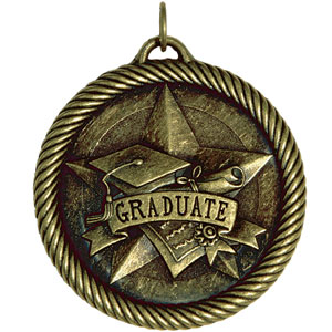 Graduate Medal VM-251 with Neck Ribbon