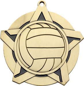 43030 Volleyball Medal with Six Pricing Options