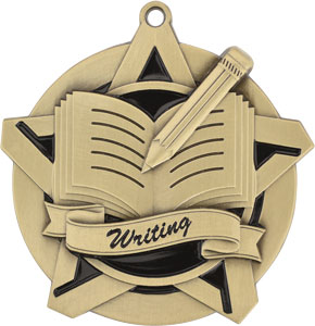 43026 Writing Medals with Six Pricing Options as low as $1.40