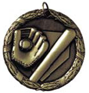 Inexpensive Softball Medal