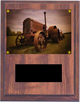 Antique Tractor Plaques V Series