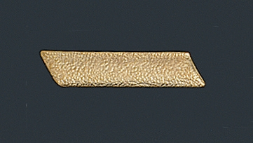 Large Bar Letter Pin
