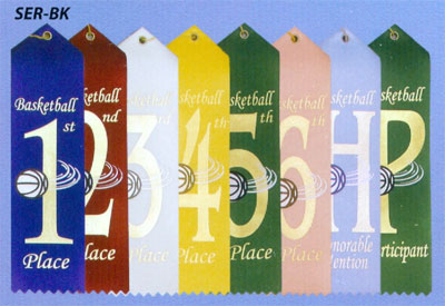 Stock Basketball Ribbons