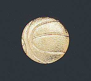 Basketball Letter Pin 113