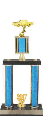 Two Post Classic Car Show Trophies, 5 Design Options