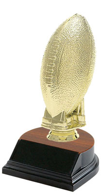 BF Series Football Trophies are inexpensive and look great. Five discount levels.