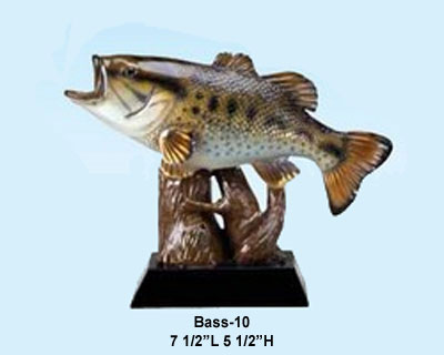 Resin Bass Trophy