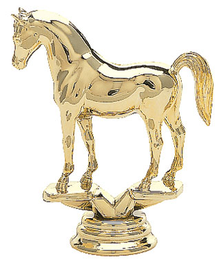Arabian Horse Trophy Figure 704