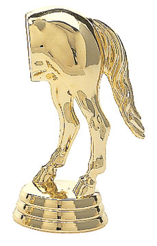 Horse's Rear Trophy Topper
