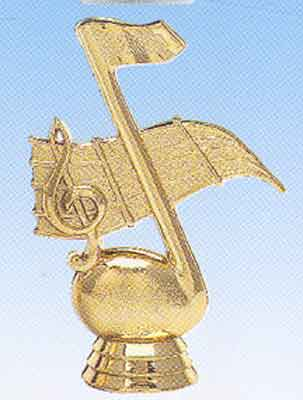 Music Note Trophy Figure 426