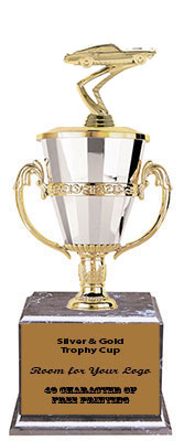 BMRC Mustang Cup Trophies with Three Size Options