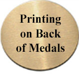 XR292 Paw Print Medals with Six Pricing Options