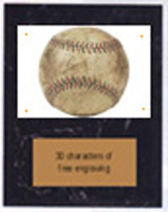 Image Softball Plaque V Series