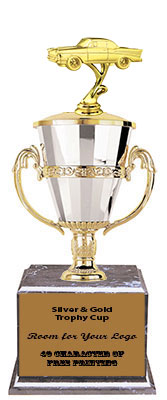 BMRC Classic Car Cup Trophies with Three Size Options