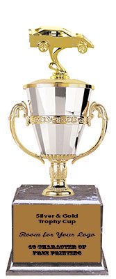 BMRC Dirt Car Cup Trophies with Three Size Options