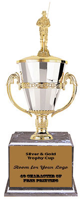 BMRC 532 Fisherman Cup Trophies with Three Size Options