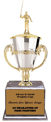 BMRC Surf Fisherman Cup Trophies with Three Size Options