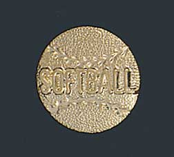 Softball Letter Pin 158