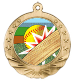 Awesome Moving Softball Medal with FREE ENGRAVING!