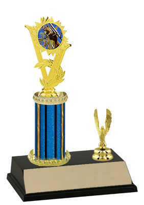 R2 Squirrel Hunt Trophy with a single round column and trim.
