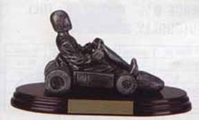 Resin Go-Kart Trophy