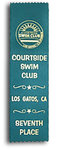 Bookmark Sports Ribbons with Custom Print