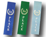 Stock Flat Bookmark Ribbons