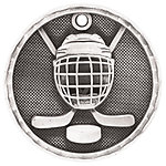 3D208 Hockey Medal with Six Pricing Options