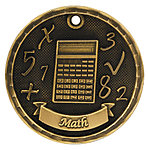 3D Math Medals 3D304 with Neck Ribbons