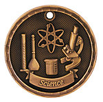 3D Science Medals 3D310 with Neck Ribbons