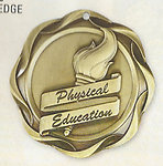 Fusion Physical Education Medals 45113 with Neck Ribbons
