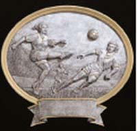Resin Women's Soccer Plaque Award