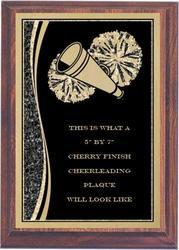 Designer Cheerleading Plaques