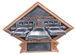 Resin Car Show Plaque Award