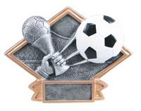 Resin Soccer Plaque DPS72 and DPS22