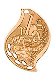 Flame Spelling Medals FM-217 with Neck Ribbons