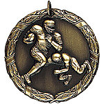 Football Medals XR212 with Neck Ribbons