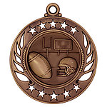 Galaxy Football Medals GM104 with Neck Ribbons