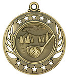 Galaxy Golf Medals GM105 with Neck Ribbons