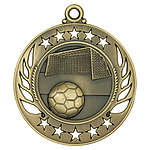 Galaxy Soccer Medals GM109 with Neck Ribbons